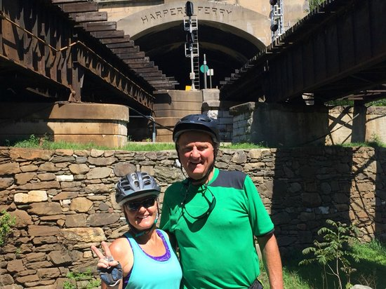 Bike the GAP Bicycle Tours: Railroad tunnel at Harper's Ferry, MD/WV