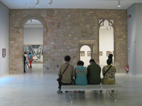 Museu Picasso: Один из залов музея