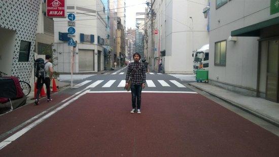 Khaosan Tokyo Ninja: ถนนด้านหน้า