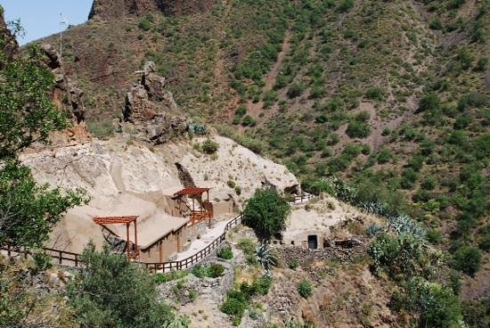 Barranco de Guayadeque : .