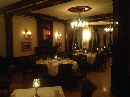 """Club 33: The """"old"""" main dining room"""
