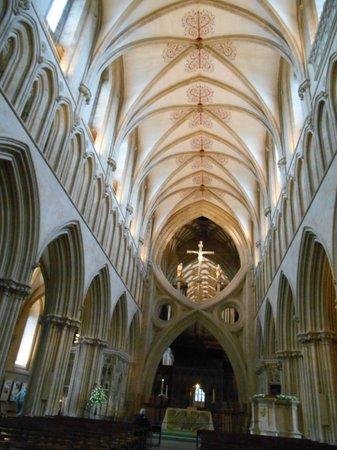 Wells Cathedral : Beautiful Ceilings