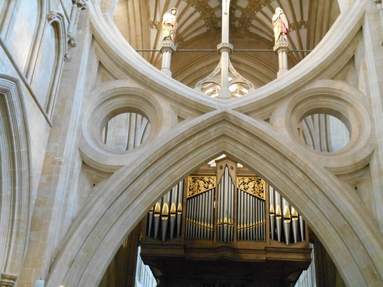 Wells Cathedral : Beautiful Ceilings and Organ