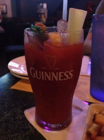 Shoeless Joes Ale House & Grille : Bloody Mary