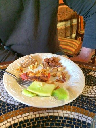 Highland Haven Creekside Inn: breakfast