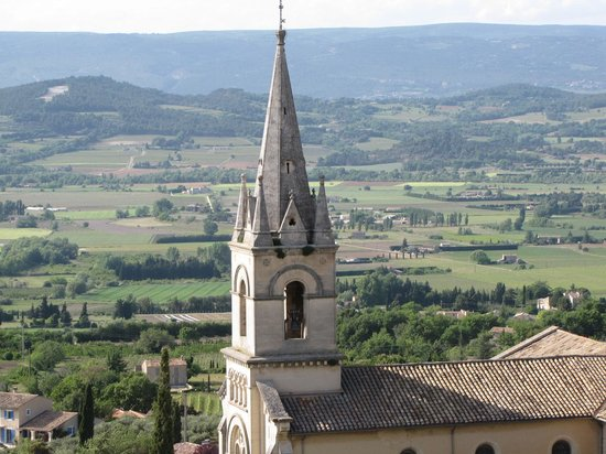 Provence Travel: View from Bonnieux