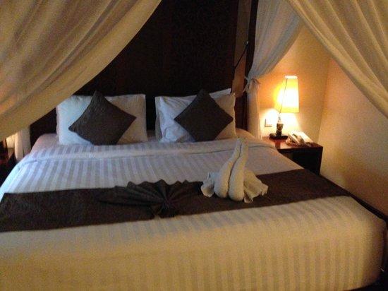 Kuta Seaview Boutique Resort & Spa : Deluxe bedroom