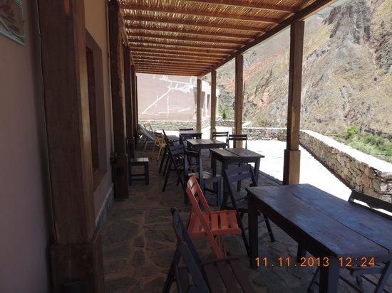 Hotel Iruya: Vista del balcón