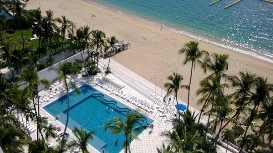 Elcano Hotel: muy buena vista