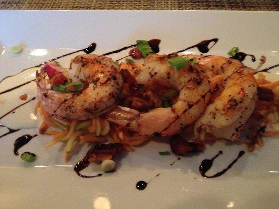CW's Chops & Catch: Shrimp appetizer special