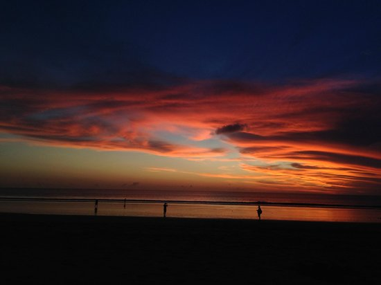 Kuta Seaview Boutique Resort & Spa: one of the many sunsets
