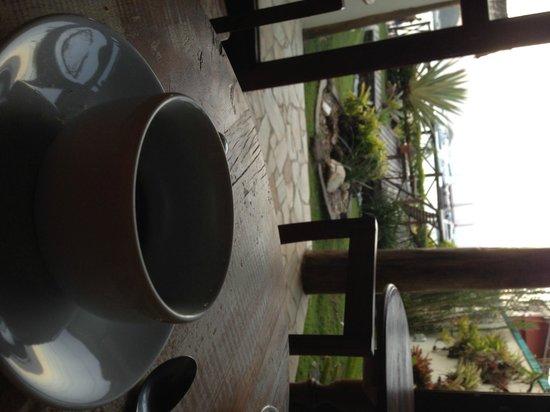 Pousada Caicara: el cafe por la tarde en el comedor