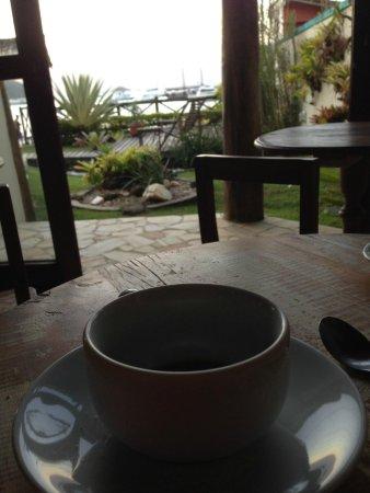 Pousada Caicara : el cafe por la tarde en el comedor