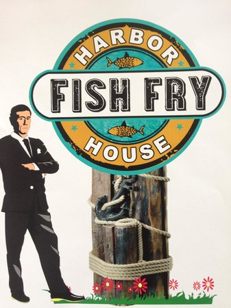 Harbor House: new sign