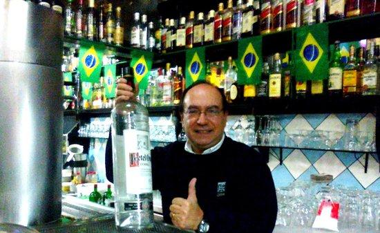 Bar Do Juarez Moema: muita oferta de bebidas...