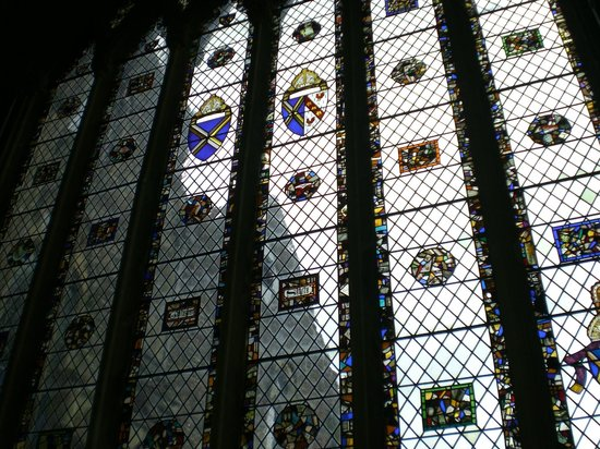 The Bishop's Palace and Gardens: Stained Glass Windows of the Chapel