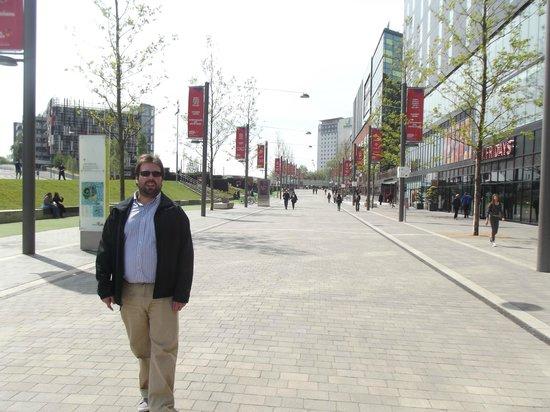 Hilton London Wembley: afuera del hotel