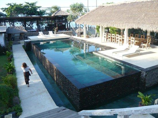 The Trawangan Resort : The Pool