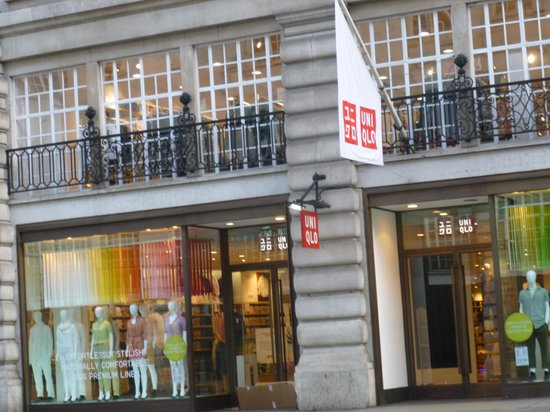 Regent Street: ユニクロ店舗