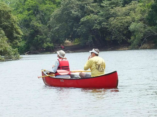 The Lodge at Chaa Creek: Canoeing the Macal River