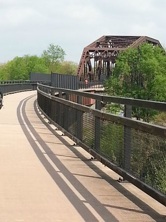 Great Allegheny Passage Trail: One of the bridges on the Great Allegheny Passage