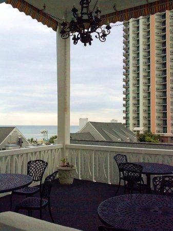Caribbean Resort And Villas Jamaican Inn View From Front Door Room 301