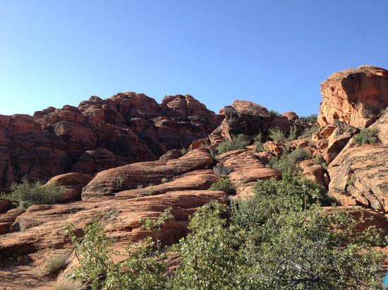 Red Mountain Resort: On a hike in Snow Canyon