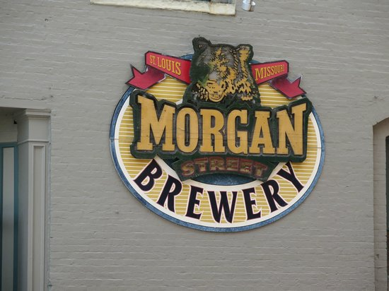 Morgan Street Brewery: signage
