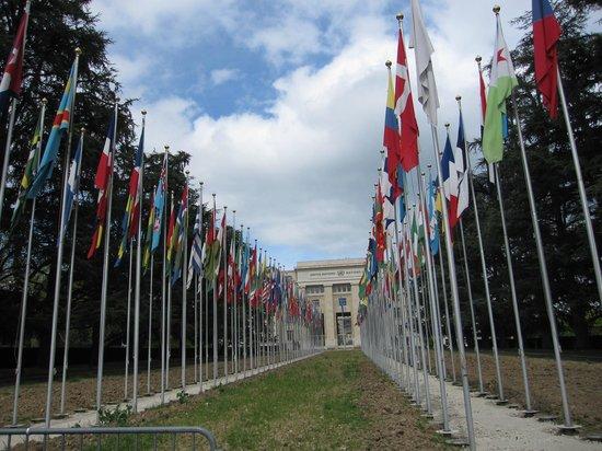 UNOG - Palais des Nations: 正面