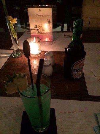 Mozzarella at The Magani Hotel: Cocktail Illusion