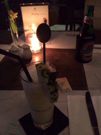 Mozzarella at The Magani Hotel: Pina Colada