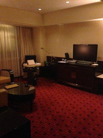 Beijing Marriott Hotel City Wall: Living Room