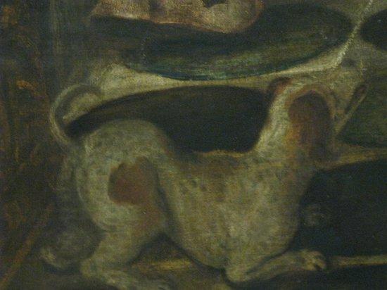 Alte Pinakothek : Um cachorrinho denuncia onde está o amante
