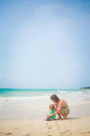 Paradisus Playa Del Carmen La Esmeralda: The beach