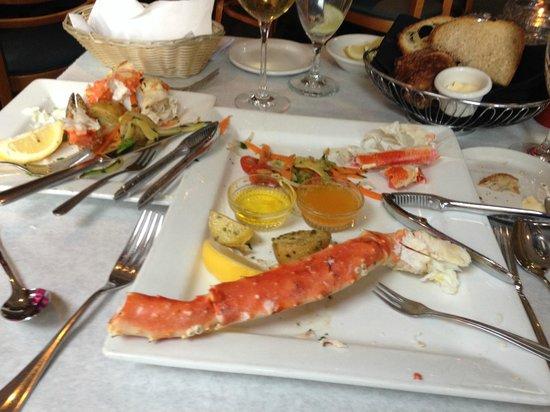 Montauk Seafood Grill King Crab Legs