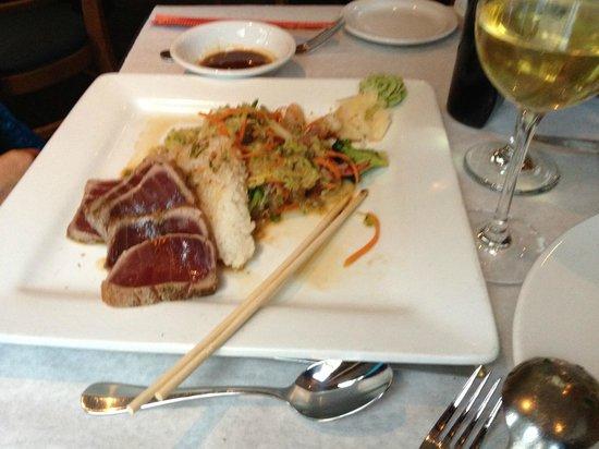 Montauk Seafood Grill: Ahi Tuna