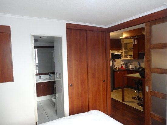 Altura Suites: a view from the bedroom