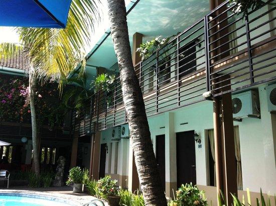 Sanur Agung Hotel: Номера с видом на бассейн