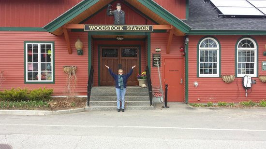 Woodstock Inn, Station & Brewery: We made it!