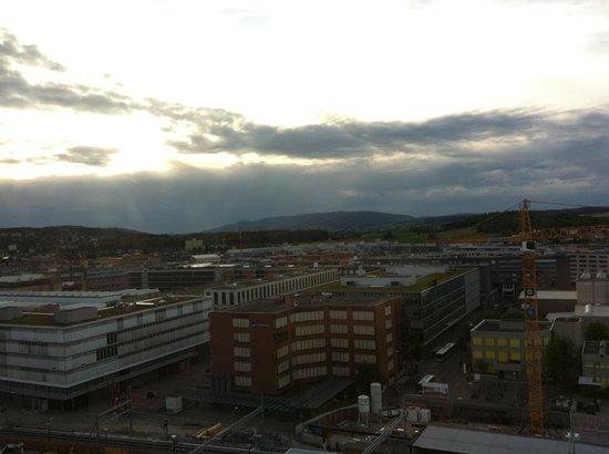 Swissotel Zurich : View from 22nd floor