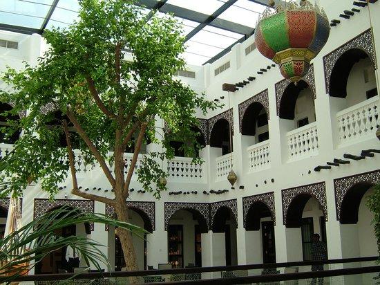 Courtyard in the Souq Waqif