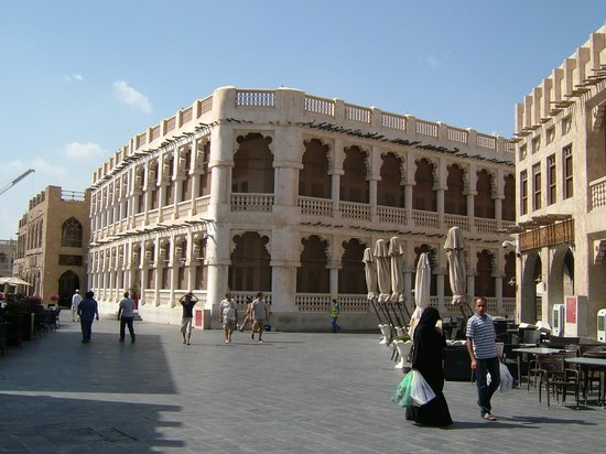 Souq Waqif: More of the architecture