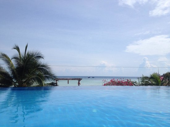 Ko Tao Resort - Paradise Zone: The infinity pool