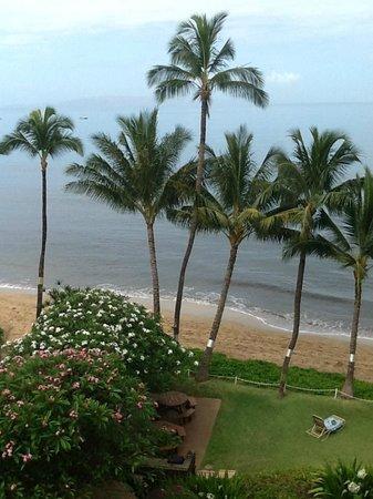 Kealia Resort: View from 501 lanai