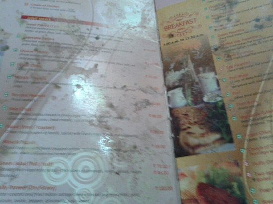Menu Card Of Corperate Room Picture Of Brightland Hotel Shimla