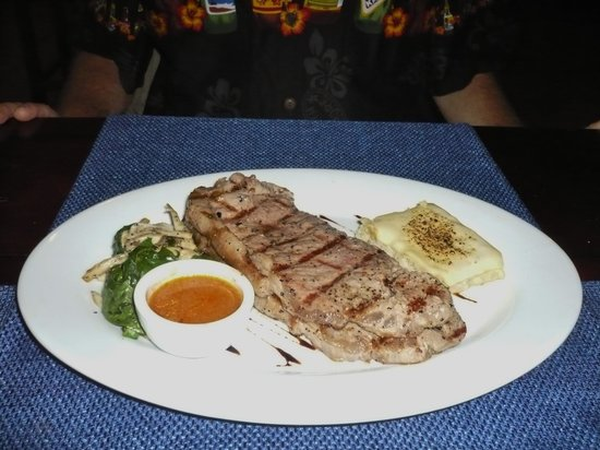 La Casserole: New York steak