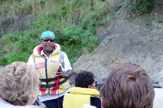 Sigatoka River Safari: Captain Freddie