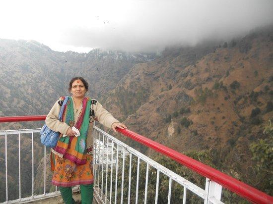 Vaishno Devi Mandir: BHAVAN VIEW FROM BHAIRAONATH TEMPLE ON TOP