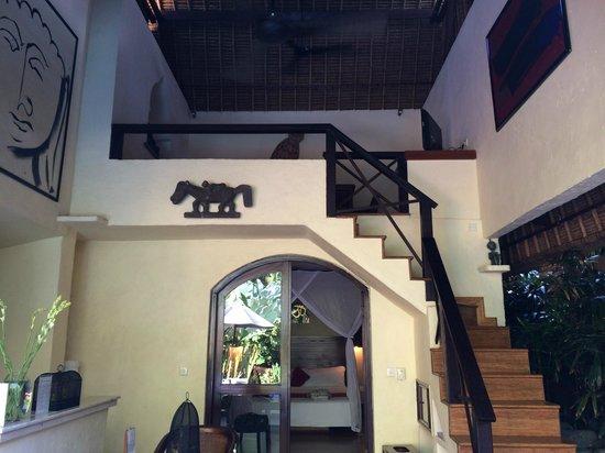 The Villas Bali Hotel & Spa : view of two story Villa