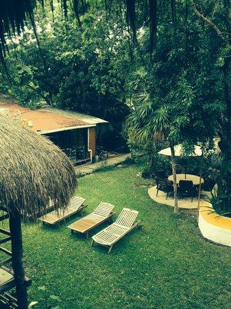 Koox City Garden Hotel: Garden view